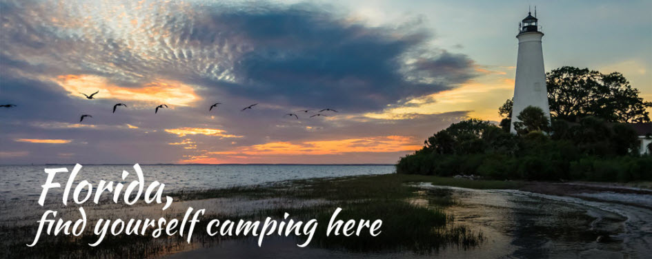 Los Cayos Florida Map.Camping In Florida Campgrounds Rv Parks Beach Camping