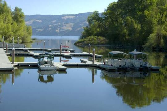Camping At Clear Lake Sp Ca
