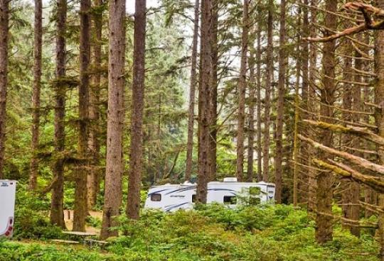 Camping At Pacific City Rv And Camping Resort Or