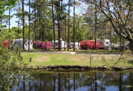 Whispering Pines Campground Nc Facility Details