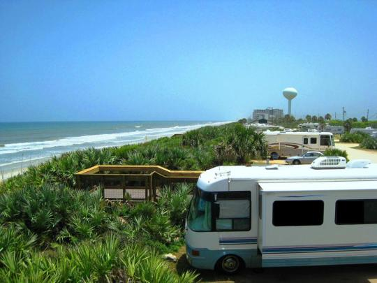 Camping At Rogers Memorial State Recreation Area Flagler Beach Fl