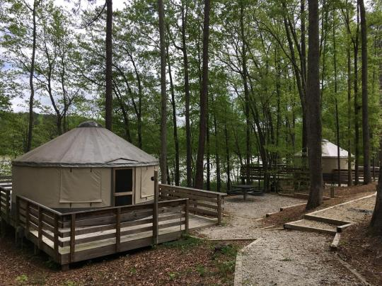 7 Awesome Campgrounds With Yurts What is yurt camping, you ask? 7 awesome campgrounds with yurts