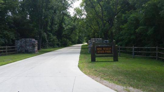 Camping at mini wakan state park ia publicscrutiny Gallery