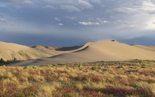 Idaho Sand Dunes >> Camping at Bruneau Dunes State Park, ID