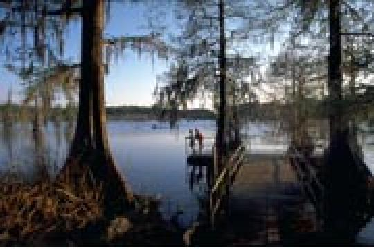 Camping At Chicot State Park La