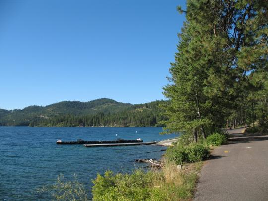 & Camping at West Shore Unit - Flathead Lake State Park MT