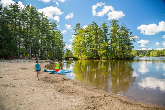 Camping at pawtuckaway state park nh for Cabin camping new hampshire