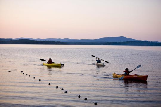 Umbagog lake state park nh facility details for Do senior citizens need a fishing license