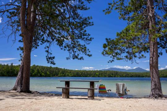 Camping at white lake state park nh for Do senior citizens need a fishing license