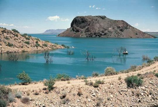 Elephant butte state park map pictures to pin on pinterest for Ute lake fishing report
