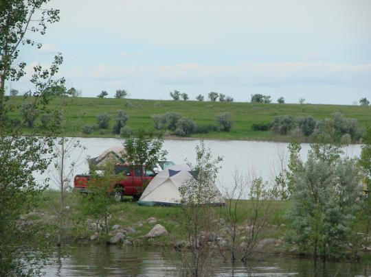 Wolf creek campground nd nd facility details for Lake sakakawea fishing