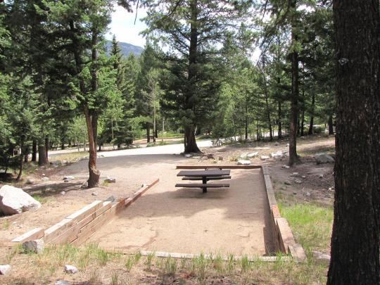 Camping At Cascade Colorado Co
