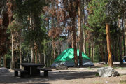 Camping at CHRISTMAS MEADOWS CAMPGROUND, UT