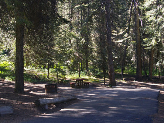 Camping At Eastside Id