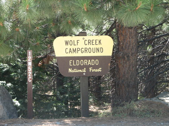 Camping at wolf creek california ca for Union valley reservoir fishing