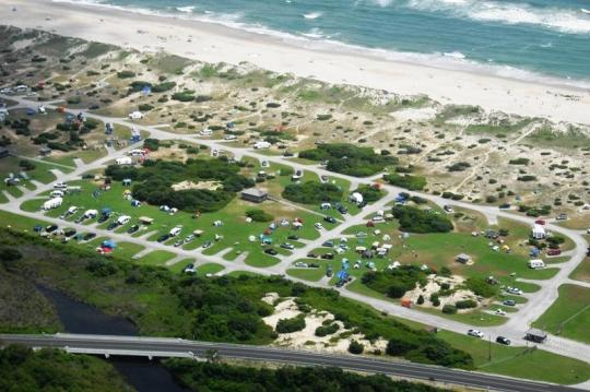 Camping At Ocracoke Campground Nc