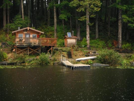 Camping at windfall lake cabin ak for Alaska cottage