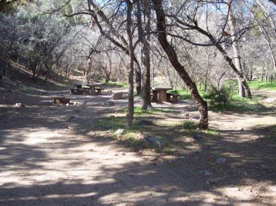 Camping At Peppersauce Az