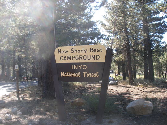 Camping At NEW SHADY REST CAMPGROUND CA