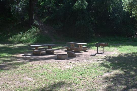 Camping At Paradise Campground Ca