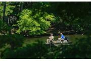 Camping at arrowhead campground nc for Badin lake fishing