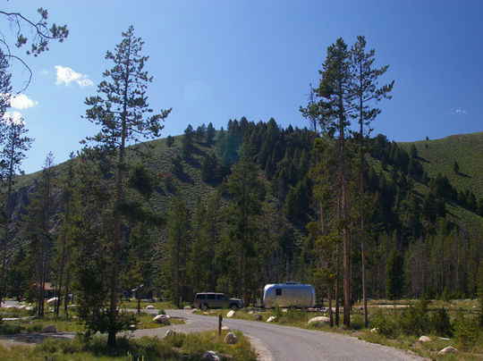 camping at sunny gulch campground  id