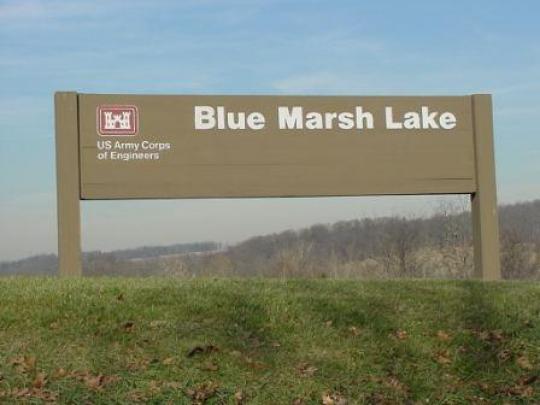 Blue marsh lake dry brooks day use area pa facility for Blue marsh lake fishing