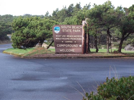 Camping At South Beach State Park Or