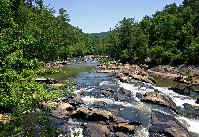 Sweetwater Creek State Park, Georgia - Camping
