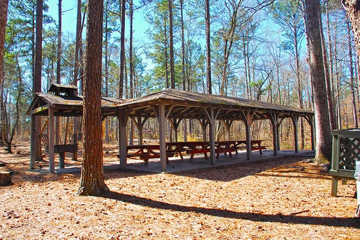 Sweetwater Creek State Park - Site: Picnic Shelter 05, Loop: Picnic