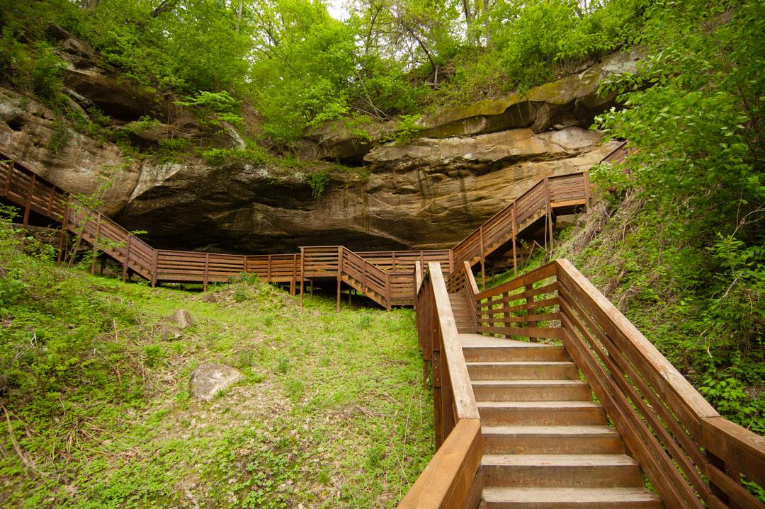 Indian Cave SP, Neska - Camping Reservations ... on indian cave sp, indian caves state park campground, indian cave state park map,