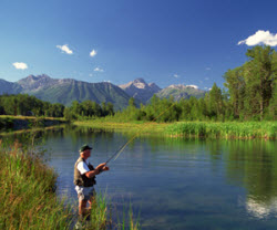 Gerle creek for Union valley reservoir fishing