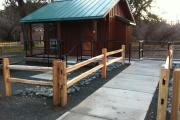 Photo: CLEAR LAKE SP CABINS