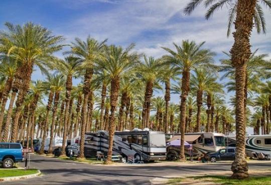 Palm Springs Rv Resort Ca Facility Details
