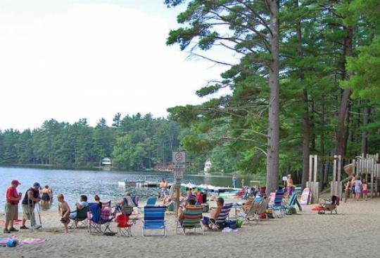 Camping At Sandy Beach Rv And Camping Resort Nh