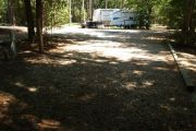 View of neighboring campsite from the back.