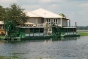 Myakka Wildlife Tours air boats that tour the Upper Myakka Lake and Myakka Outpost where you can get a delicious bowl of gator stew and unusual gifts and souvenirs.