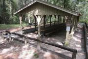 Photo: GENERAL COFFEE PICNIC SHELTER 4 FOREST VIEW