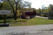 Photo: COVERED BRIDGE, CATARACT FALLS COVERED BRIDGE