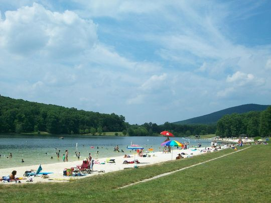 Camping at greenbrier state park md for Md fishing license cost