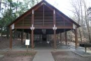 Photo: Fews Ford Shelter, Eno River Fews Ford Picnic Shelter