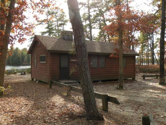 Camping at bass river state forest nj for Cabin getaways in nj