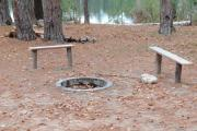 Photo: TOM'S LAKE CABIN CAMPFIRE AREA