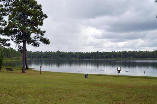 Camping at CAMEL LAKE CAMPGROUND, FL