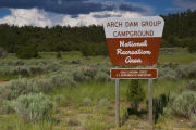 Photo: ARCH DAM CAMPGROUND