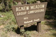 Photo: AGNEW MEADOWS GROUP CAMP