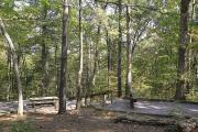 Photo: LAKE POWHATAN TYPICAL CAMPSITE