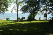 View of Leech Lake from Stony Point Campground