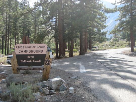 Camping at BIG PINE CANYON, CA