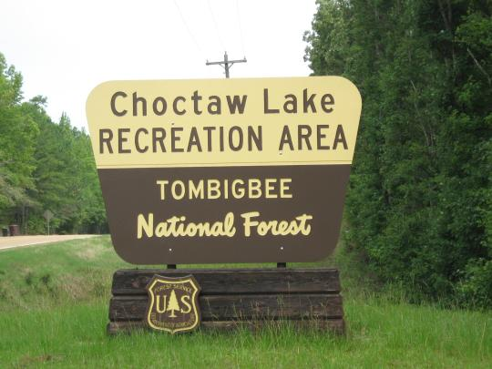 Camping at choctaw lake ms for Fishing license ms